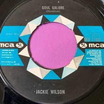 Jackie Wilson-I get the sweetest feeling/Soul Galore -UK MCA noc E+