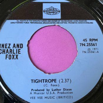 Inez and Charlie Fox-Tightrope-UK Pye Int. noc E+