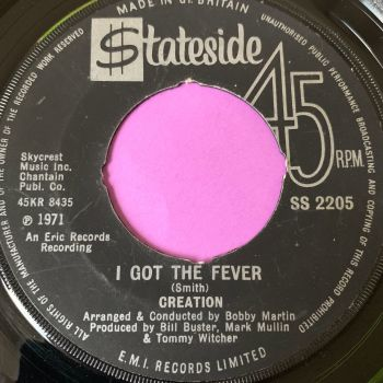 Creation-I got the fever-UK Stateside noc E+