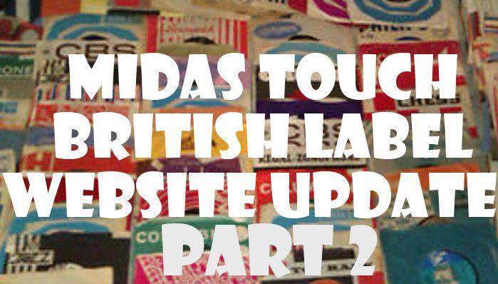 British Label Soul 45s