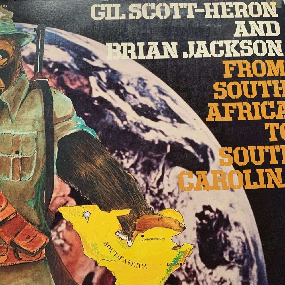 Gil Scott-Heron-From South Africa to South Carolina-Arista Gatefold LP E+
