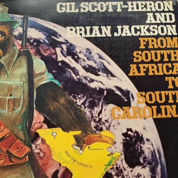 Gil Scott-Heron-From South Africa to South Carolina-Arista Gatefold LP E+