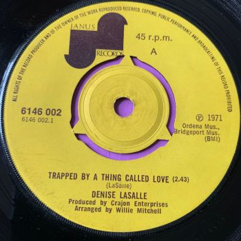 Denise LaSalle-Trapped by a thing called love-UK Janus E+