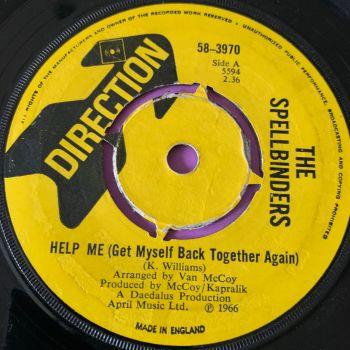 Spellbinders-Help me-Columbia UK Direction vg+