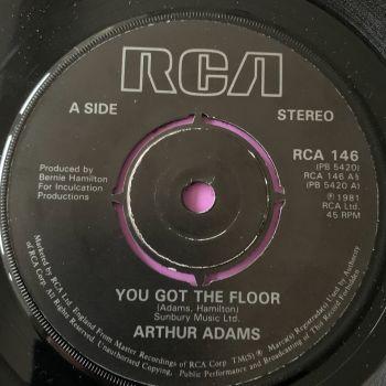 Arthur Adams-You got the floor-UK RCA E+
