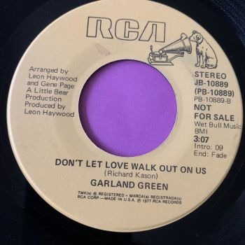 Garland Green-Don't let walk out on us-RCA  Demo E