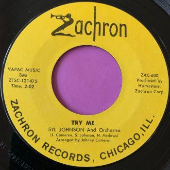 Syl Johnson-Try Me-Zachron E+