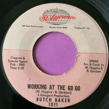Butch Baker-Working at the go go-St.Lawrence E+