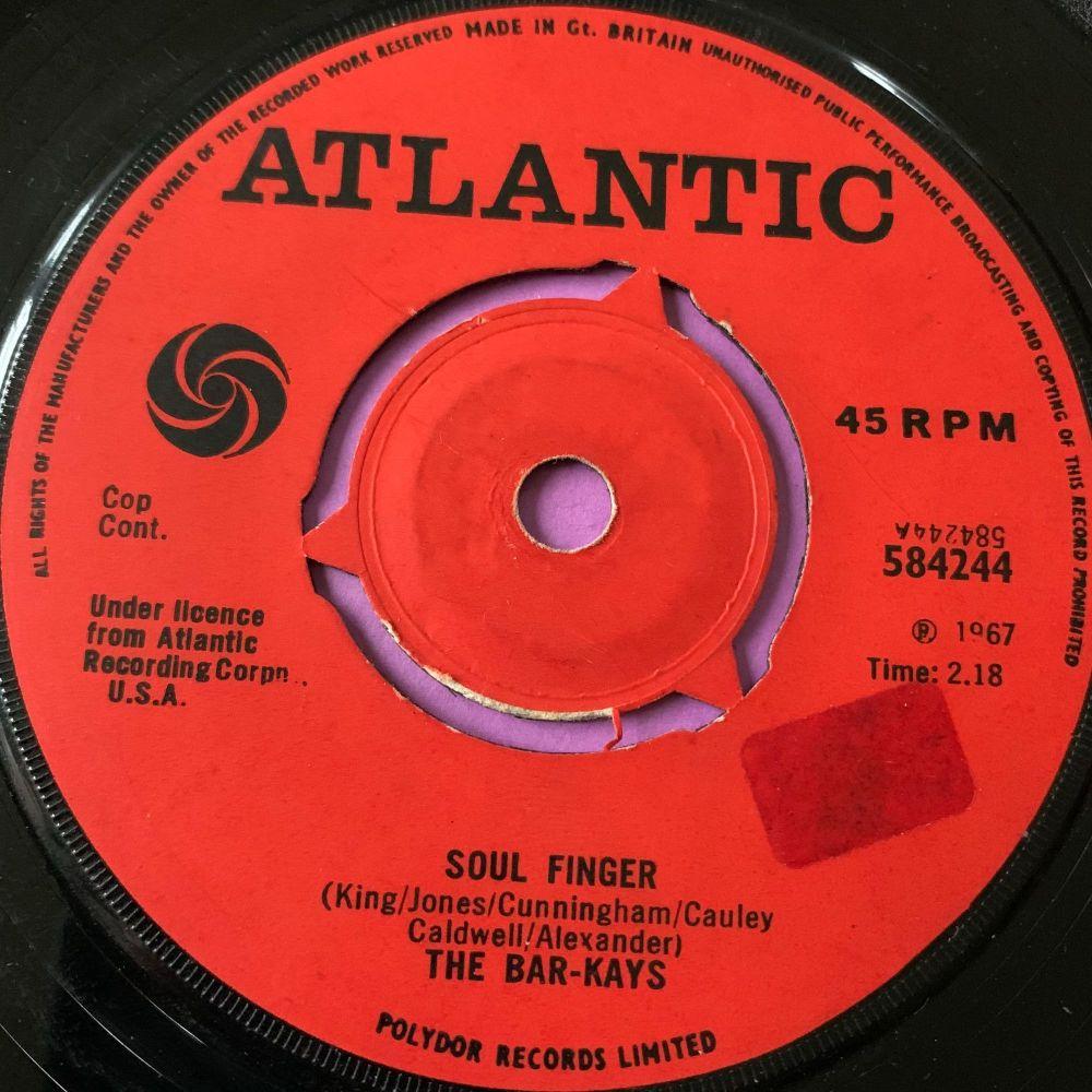 Bar-Kays-Soul Finger-UK Atlantic Stkr E