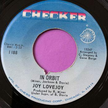 Joy Lovejoy-In orbit-Checker E