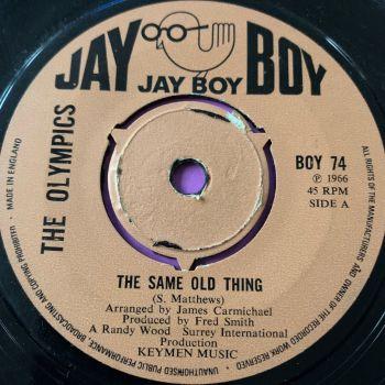 Olympics-The same old thing-Jayboy E