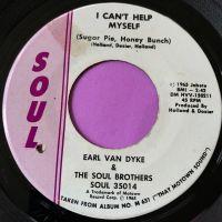 Earl Van Dyke-I can't help myself-Soul stkr E