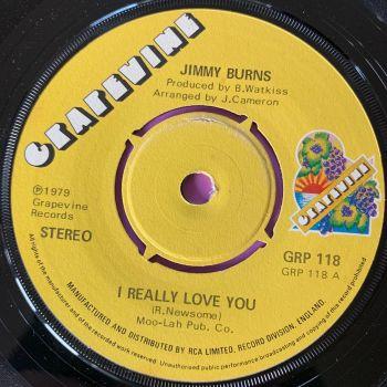 Jimmy Burns-I really love you-UK Grapevine E+