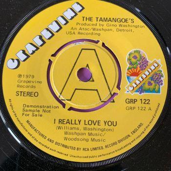 Tamangoe's-I really love you-UK Grapevine DEMO E+