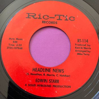 Edwin Starr-Headline news-Ric-tic E+