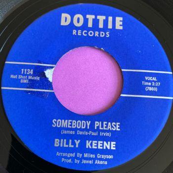 Billy Keene-Somebody please-Dottie LT E+