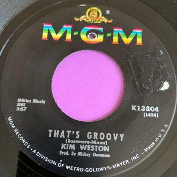 Kim Weston-That's groovy-MGM E