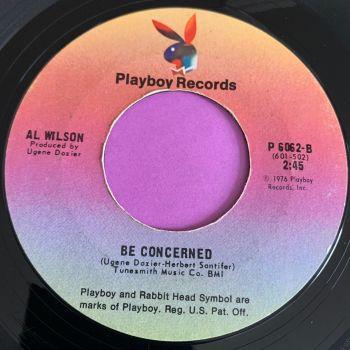 Al Wilson-Be concerned/ I've got a feeling....-Playboy E