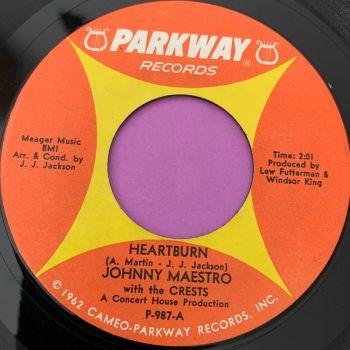 Johnny Maestro-Heartburn-Parkway E