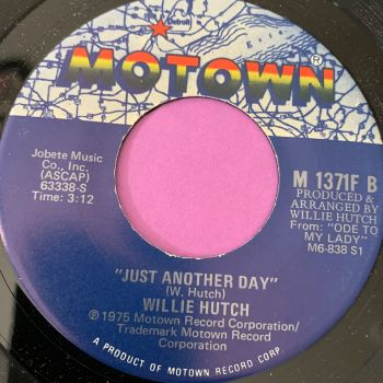Willie Hutch-Just another day-Motown E+