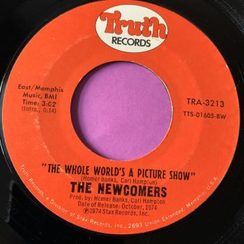 Newcomers-The whole world's a picture show-Truth E+