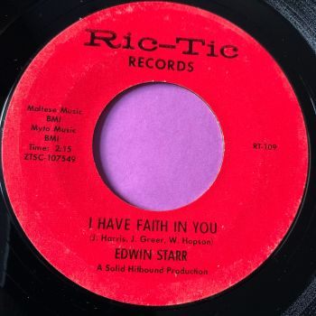 Edwin Starr-I have faith in you-Ric-Tic E+