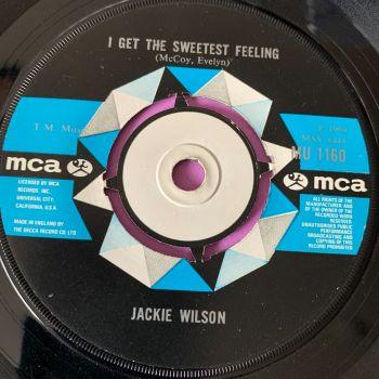 Jackie Wilson-Soul galore/ I get the sweetest feeling-UK MCA E+