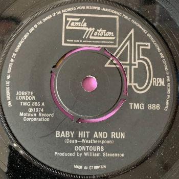 Contours-Baby hit and run-TMG 886 E+