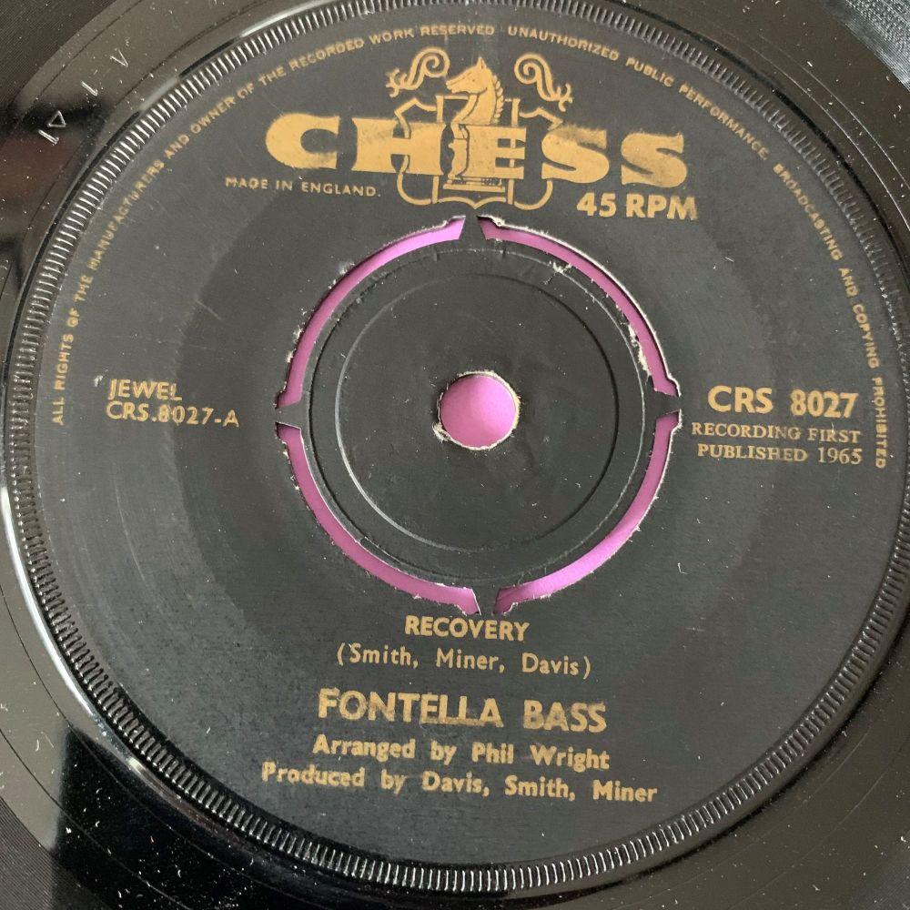 Fontella Bass-Recovery-UK Chess E