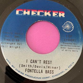 Fontella Bass-I can't rest/ Surrender-Checker M-