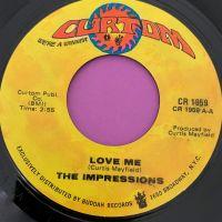 Impressions-Love me-Curtom E+