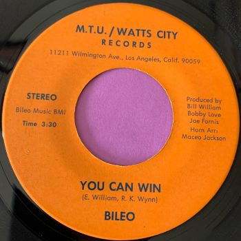 Bileo-You can win-MTU-Watts City E+