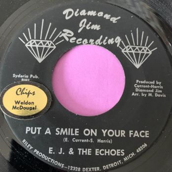 E.J and Echoes-Put a smile on your face-Diamond Jim stkr E+