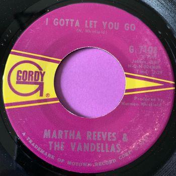 Martha Reeves-I gotta let you go-Gordy M-