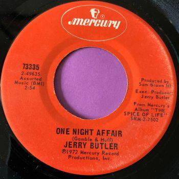 Jerry Butler-One night affair-Mercury M-