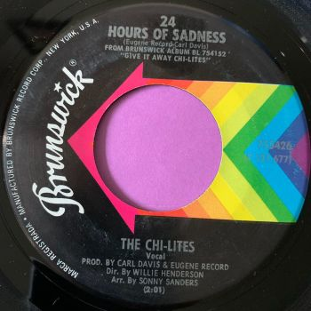 Chi-lites-24 hours of sadness-Brunswick M-