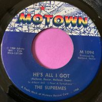 Supremes-He's all I got-Motown M-
