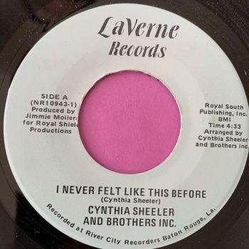 Cynthia Sheeler-I never felt like this before-Laverne E+