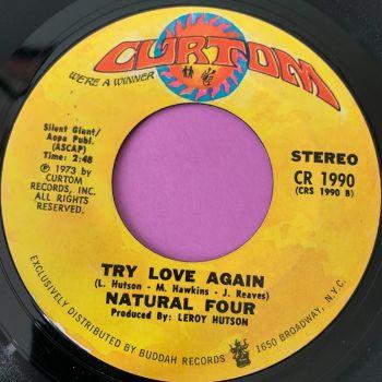 Natural Four-Try love again-Curtom E