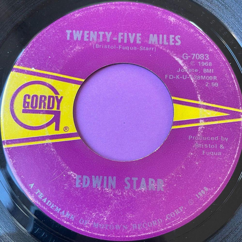 Edwin Starr-25 Miles-Gordy E