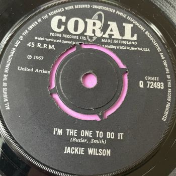 Jackie Wilson-I'm the one to do it-UK Coral E+