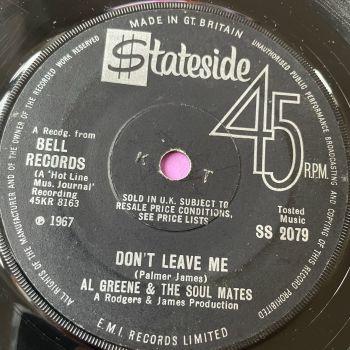 Al Greene-Don't leave me-UK Stateside vg+
