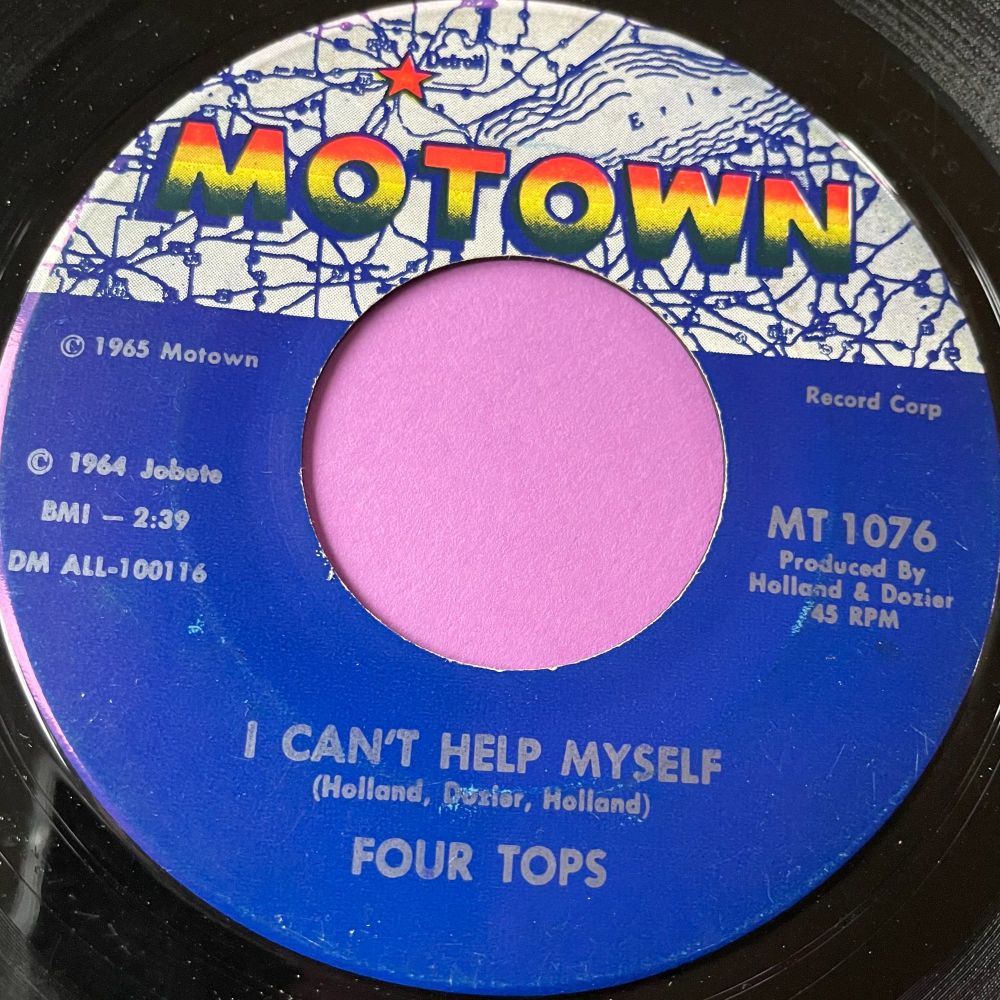 Four Tops-I can't help myself-Motown E+