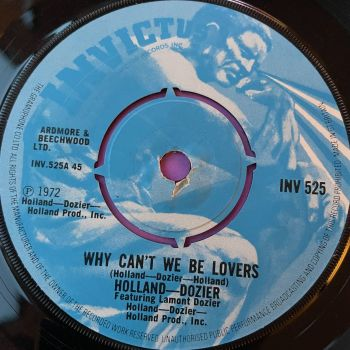 Holland Dozier-Why can't we be lovers-UK Invictus E+