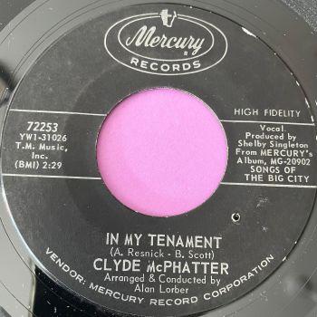 Clyde McPhatter-In my tenament-Mercury E+