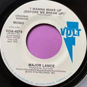 Major Lance-I wanna make up-Volt Demo E+