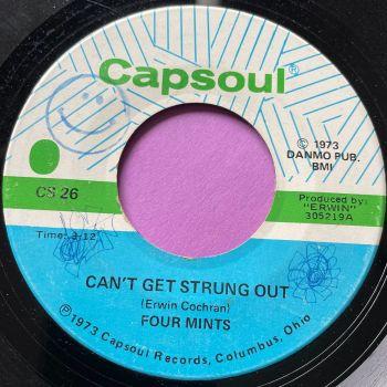 Four Mints-Can't get strung out-Capsoul wol E