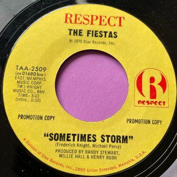 Fiestas-Sometimes storm-Respect E+