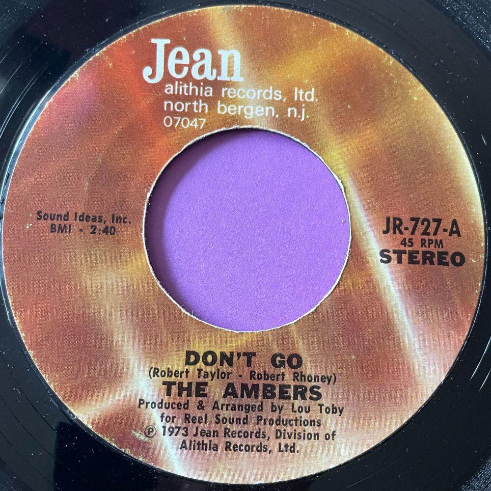 Ambers-Don't go-Jean E