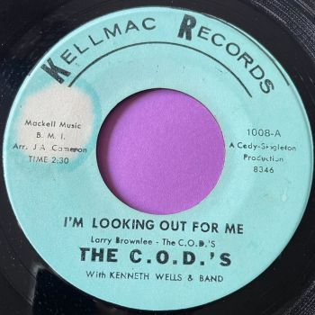 C.O.D's- I'm looking out for me-Kellmac E